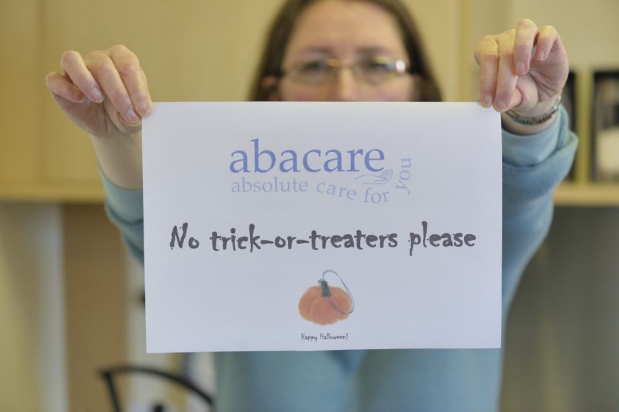 Campaign for no 'trick or treats' on the elderly