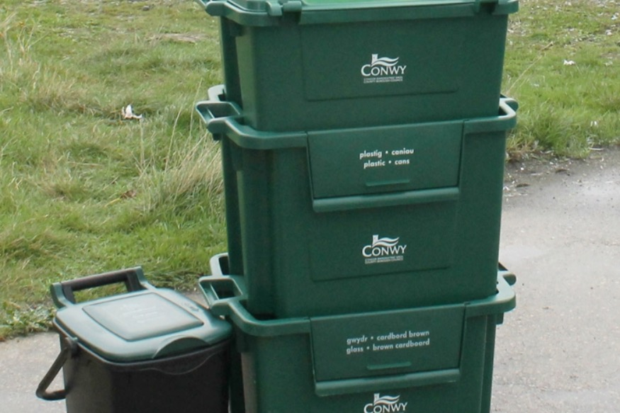 The benefits of recycling in Conwy 'becoming clear'