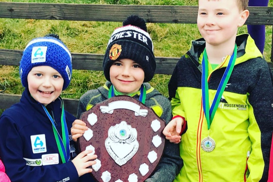 Local pupils help ski club win Pendle Series
