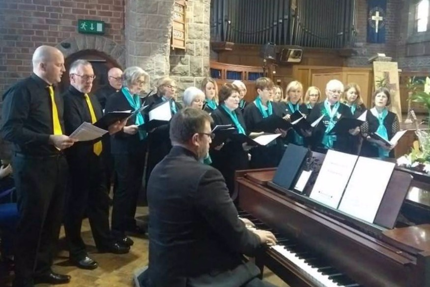Community choir gives a voice to Tenovus spring event