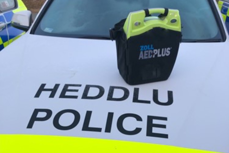 Defibrillators fitted in Roads Policing vehicles