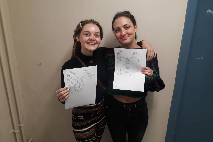 Eirias A Level students celebrate results success