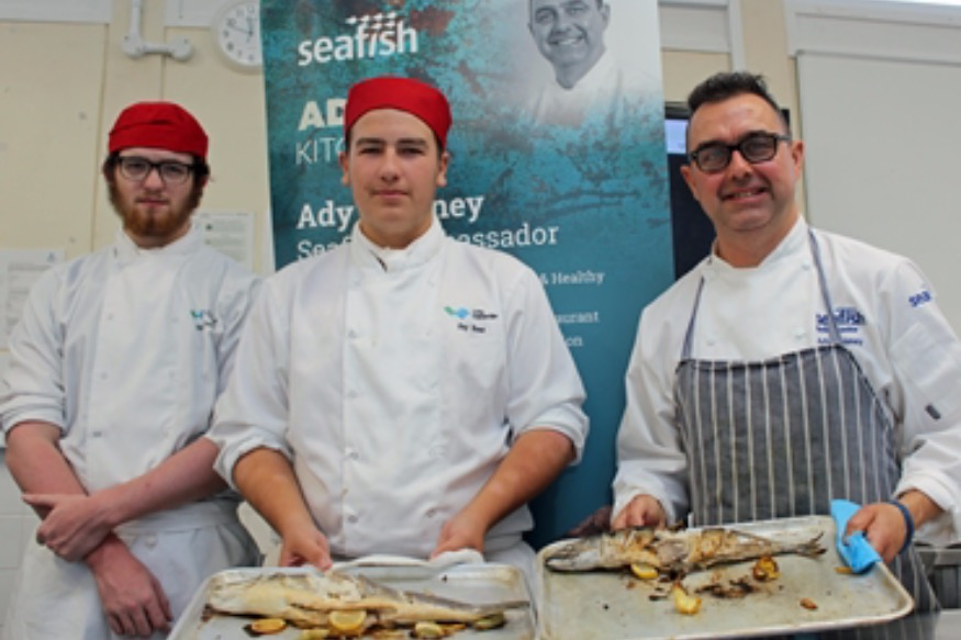 Celebrated chef brings Seafood skills to campus