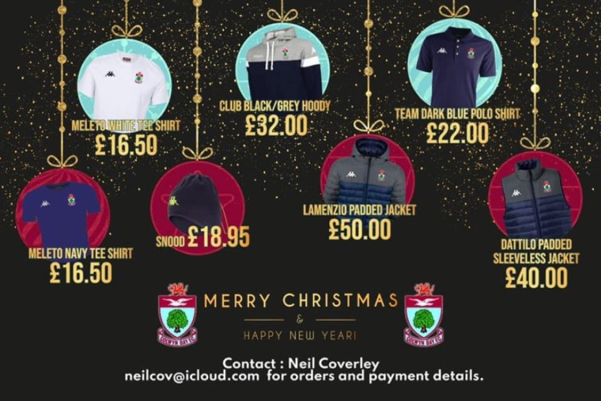 A great Christmas goal! Gifts to support our football club