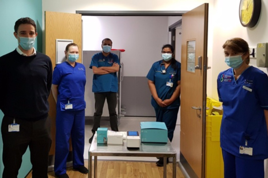 Glan Clwyd joins study to assess instant testing for COVID-19