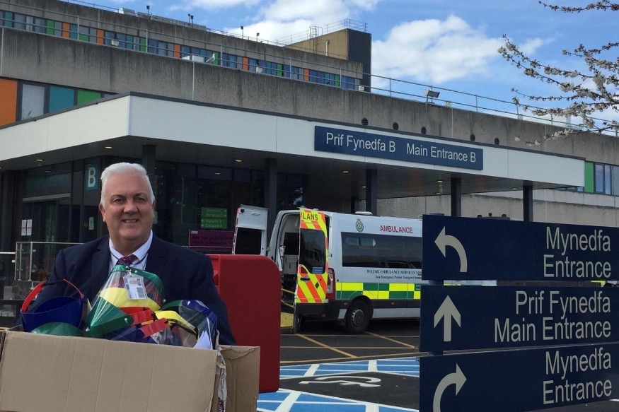 Bryn Elian to make more NHS equipment as donations rolls in