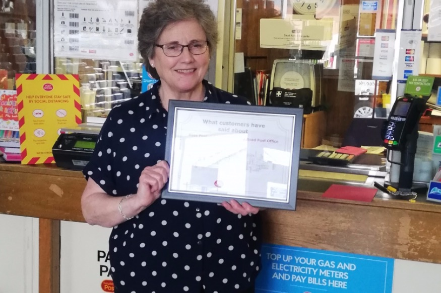 West End's Post Office in running for customer award